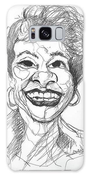 Annette Caricature Galaxy Case