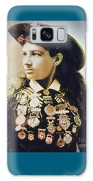 Annie Oakley - Shooting Legend Galaxy Case