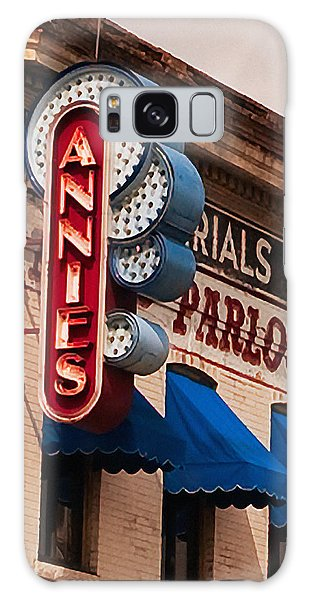Annies U Of M Galaxy Case by Susan Stone