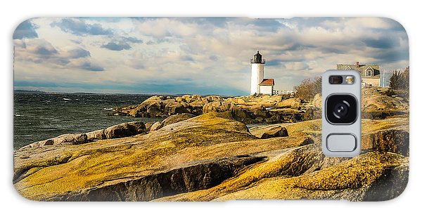 Annisquam Harbor Light Galaxy Case