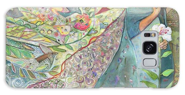 Annunciation Galaxy Case - Annunciation by Jen Norton