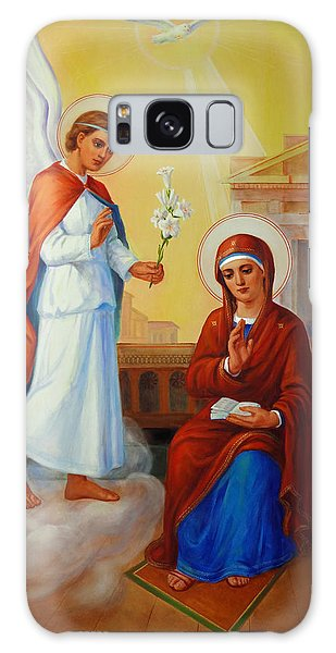 Annunciation Of The Lord - Annuntiatio Domini  Galaxy Case by Svitozar Nenyuk