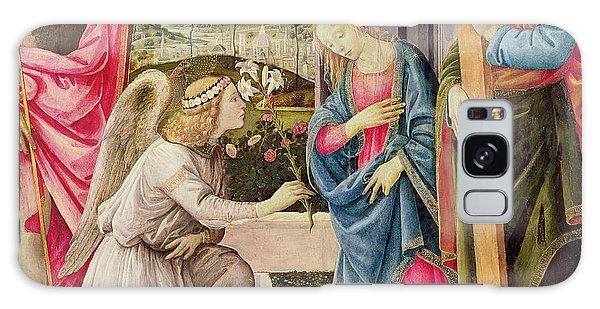 Annunciation Galaxy Case - Annunciation With Saint Joseph And Saint John The Baptist by Filippino Lippi