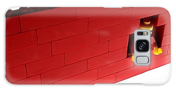 Another Brick In The Wall Galaxy Case by Mark Fuller