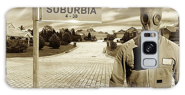 Breathe Galaxy Case - Another Day In Suburbia by Jorgo Photography - Wall Art Gallery