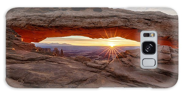 Another Sunrise At Mesa Arch Galaxy Case
