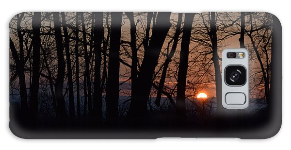 Another Sunrise In The Woods Galaxy Case