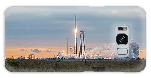 Antares Launch From Wallops Island Galaxy Case