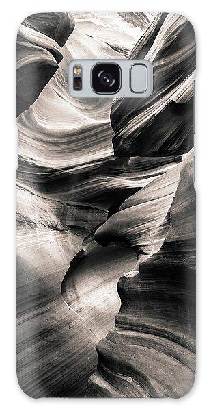 Antelope Canyon Bw Galaxy Case