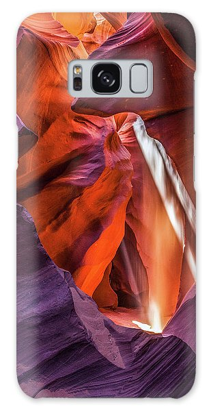 Antelope Canyon Lightshaft 3 Galaxy Case