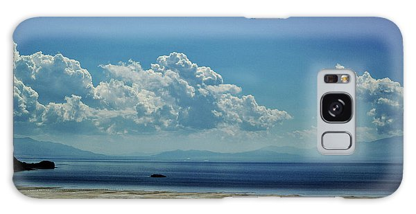 Antelope Island, Utah Galaxy Case by Cynthia Powell