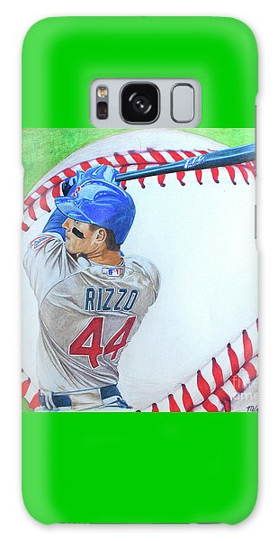 Anthony Rizzo 2016 Galaxy Case by Melissa Goodrich