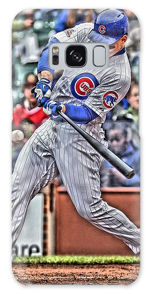 Grant Park Galaxy Case - Anthony Rizzo Chicago Cubs by Joe Hamilton