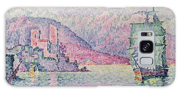 Impressionism Galaxy S8 Case - Antibes by Paul Signac