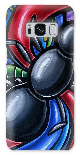 Ant Art Painting Colorful Abstract Artwork - Chromatic Acrylic Painting Galaxy Case