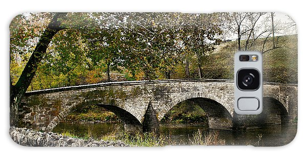 Burnside's Bridge Over Antietam Creek Galaxy Case