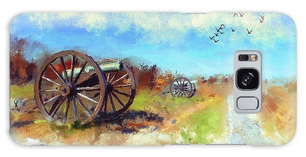 Antietam Under Blue Skies  Galaxy Case by Lois Bryan