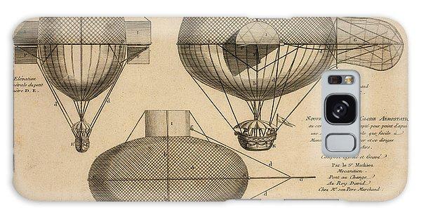 Antique Aeronautics Galaxy Case