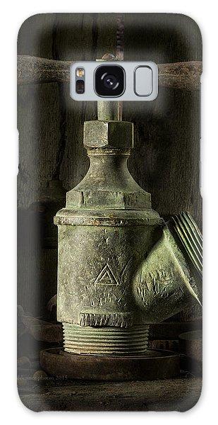 Antique Brass T Valve Galaxy Case