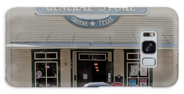 Antique Car At Gruene General Store Galaxy Case