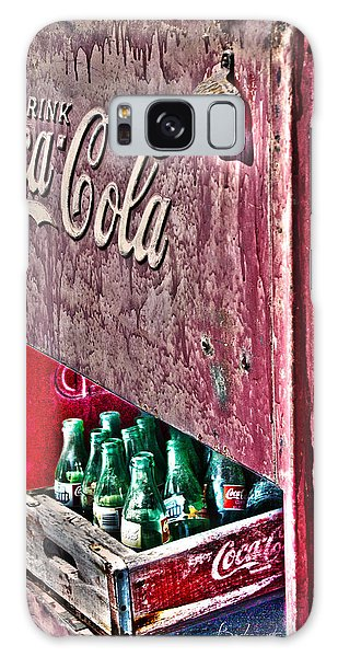 Antique Coca Cola Coke Refrigerator Galaxy Case