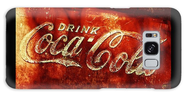 Antique Coca-cola Cooler II Galaxy Case by Stephen Anderson