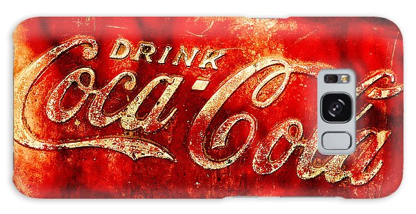 Antique Coca-cola Cooler Galaxy Case by Stephen Anderson