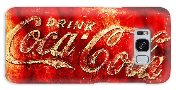 Antique Coca-cola Cooler Galaxy Case