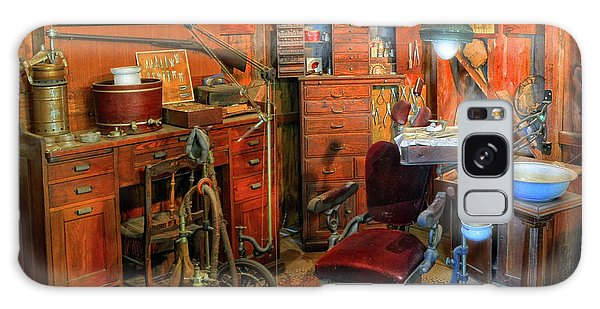 Antique Dental Office Galaxy Case by Dave Mills