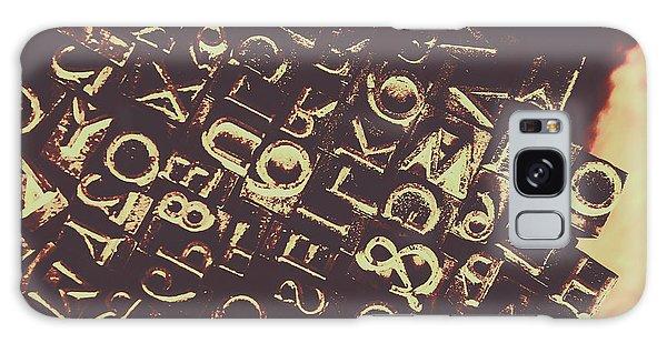 Warfare Galaxy Case - Antique Enigma Code by Jorgo Photography - Wall Art Gallery