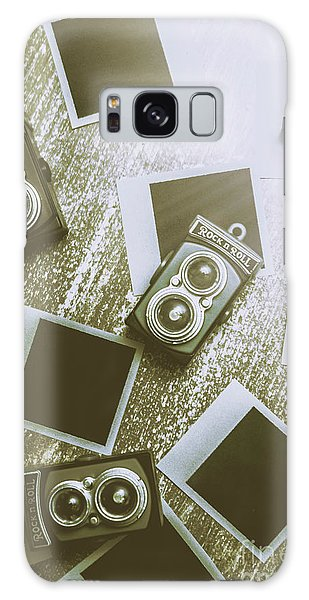 Vintage Camera Galaxy Case - Antique Film Photography Fun by Jorgo Photography - Wall Art Gallery
