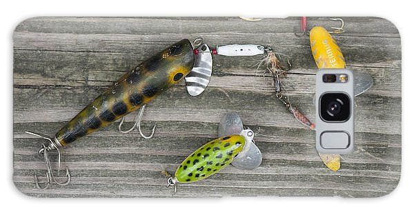 Antique Fishing Lures Galaxy Case