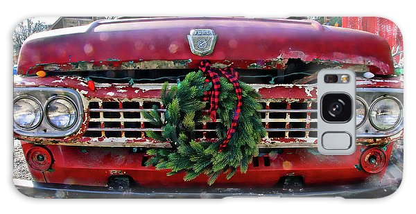Antique Ford Christmas Galaxy Case
