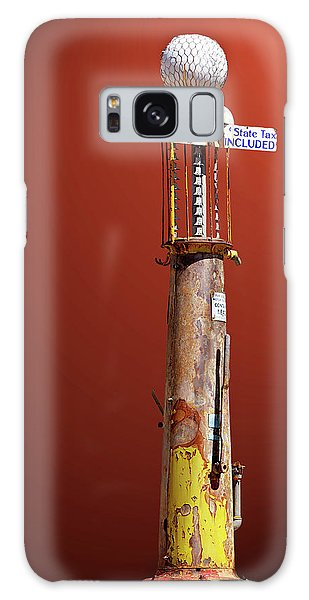 Antique Gas Pump Galaxy Case by Phyllis Denton