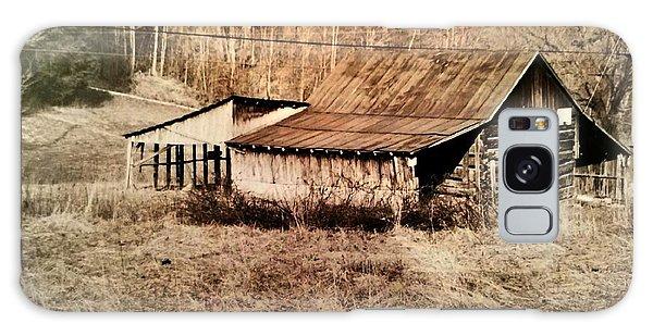 Antique Log Beam Barn Southern Indiana Galaxy Case