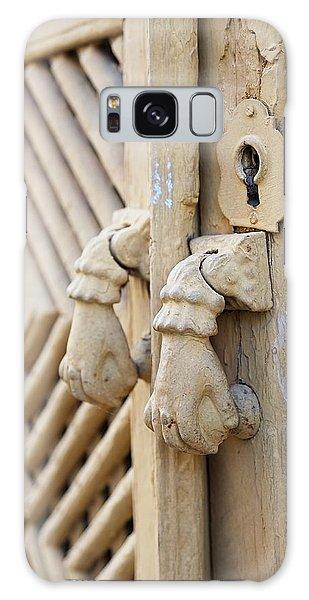 Antique Mediterranean Door-knocker Galaxy Case