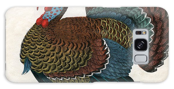 Antique Print Of A Turkey, 1859  Galaxy Case by American School