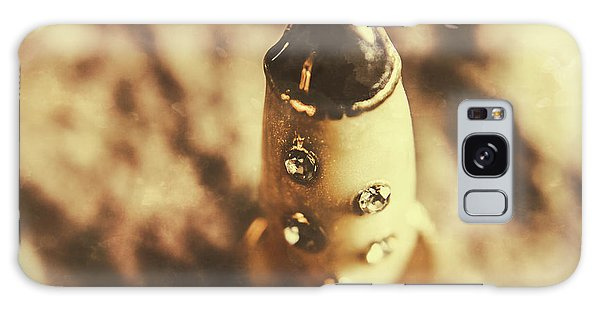 Jewels Galaxy Case - Antique Rocket Ship On Faded Asteroid by Jorgo Photography - Wall Art Gallery