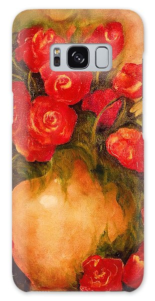 Antique Roses Galaxy Case