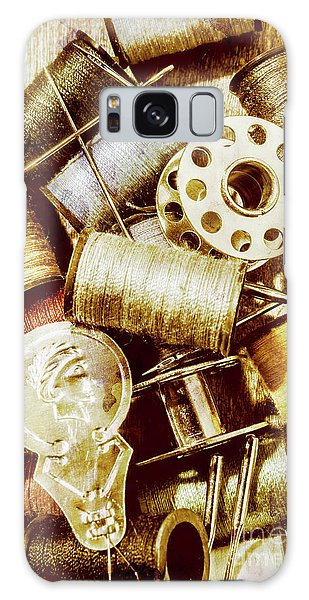 Industry Galaxy Case - Antique Sewing Artwork by Jorgo Photography - Wall Art Gallery