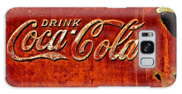Antique Soda Cooler 3 Galaxy Case by Stephen Anderson