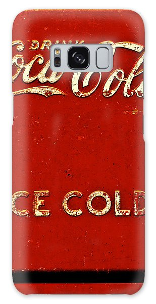 Antique Soda Cooler 6 Galaxy Case