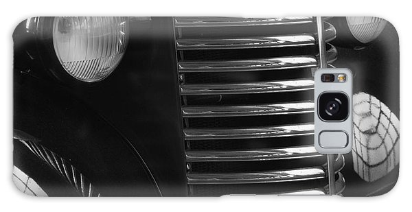 Antique Truck Black And White Galaxy Case