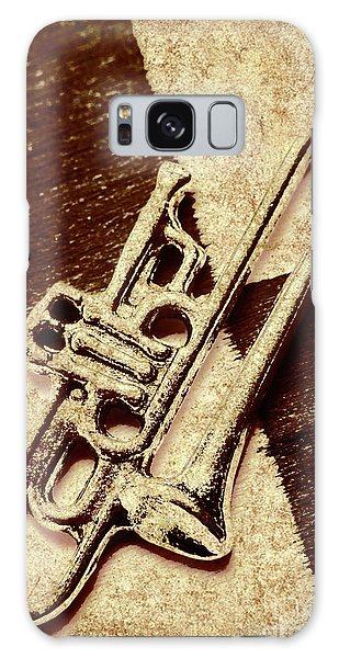 Trumpet Galaxy S8 Case - Antique Trumpet Club by Jorgo Photography - Wall Art Gallery