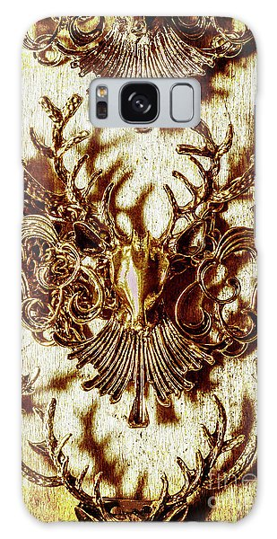 Antlers Galaxy Case - Antler Antiquities by Jorgo Photography - Wall Art Gallery