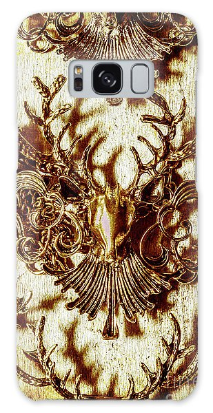Decorative Galaxy Case - Antler Antiquities by Jorgo Photography - Wall Art Gallery