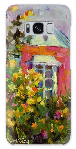 Antoinette's Cottage Galaxy Case by Chris Brandley