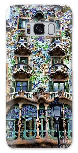 Antoni Gaudi's Casa Batllo Barcelona Spain  Galaxy Case