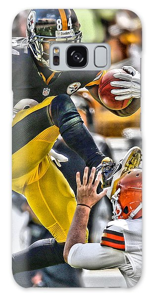 Antonio Brown Steelers Art 5 Galaxy Case