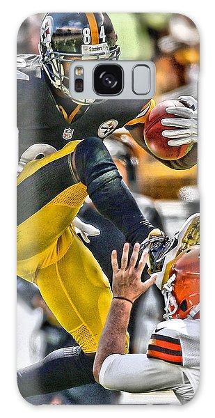 Nerd Galaxy Case - Antonio Brown Steelers Art 5 by Joe Hamilton